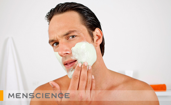 How to Apply a Men's Facial Cleansing Mask | MenScience